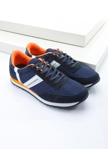 19V69 Italia %100 Deri Lifestyle Ayakkabı Lacivert